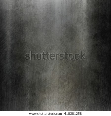 Metal texture. Iron metal plate. Polished metal plate. Iron metal background. Metal template