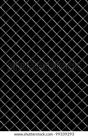 Metal texture on black