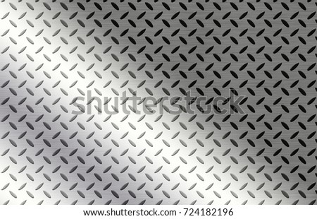 Metal texture plate background or stainless steel abstract #724182196