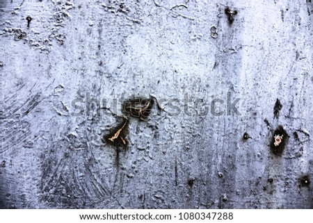 Metal texture with scratches and cracks #1080347288
