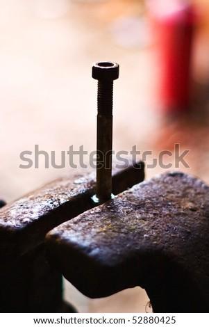 Metal tools useful in every garage, handtools