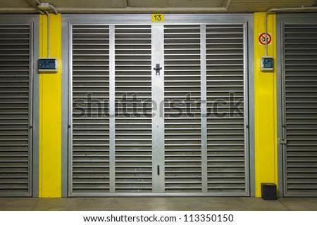 metal underground new garage door