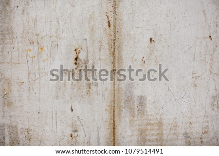 Metal wall texture with scratches #1079514491