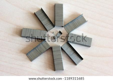 metal wire stapler