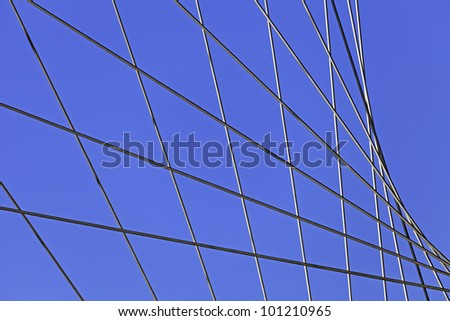 Metal Wires On Sunny Day As Background