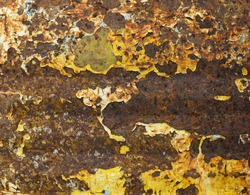 metal with rust is abstract background
