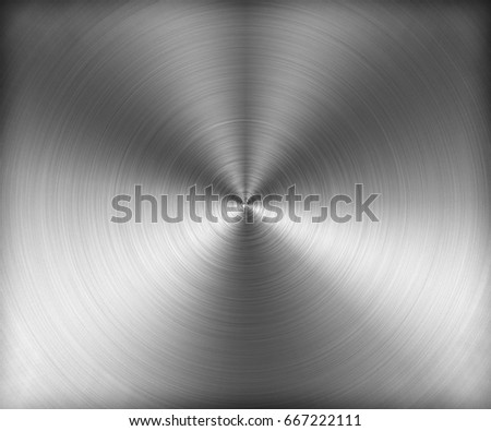 Metal Zoom Hairline Texture - silver
