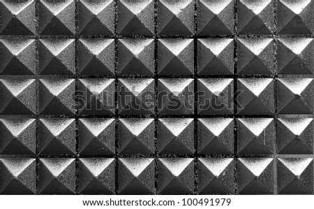 metall pyramids background
