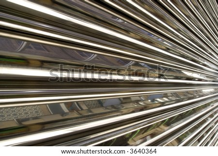 metallic abstract background made - web and future concepts