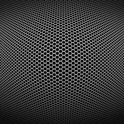 Metallic 3D mesh background
