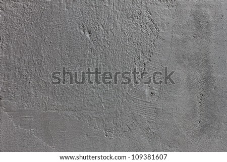 Metallic  gray plaster wall wallpaper  background