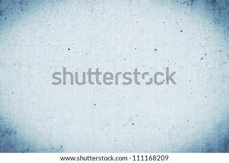Metallic grey painted plaster concrete wall background. Dark edged