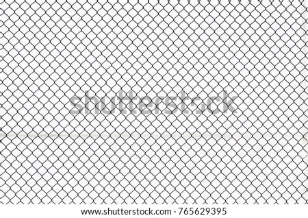 Metallic Grid on the white background #765629395