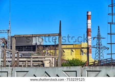 Metallurgical plant in the city of Izhevsk