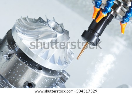 metalworking cutting process by milling cutter