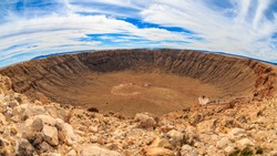 Meteor Crater Natural Landmark in Arizona