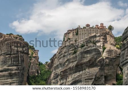 Meteora - kláštery mezi nebem a zemí, Kréta Řecko Stock fotó ©