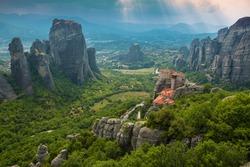Meteora Monastery , Greece