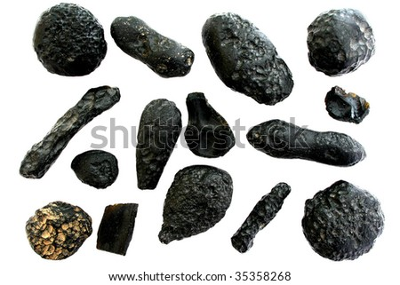 Meteorite collection, Indochinite tektites.