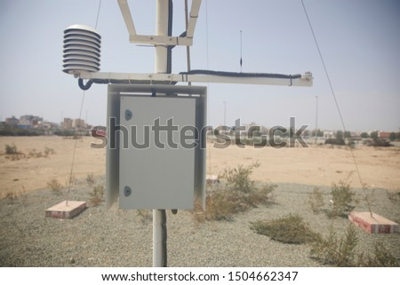 Meteorological equipment's , used for monitoring weather and climatic conditions #1504662347