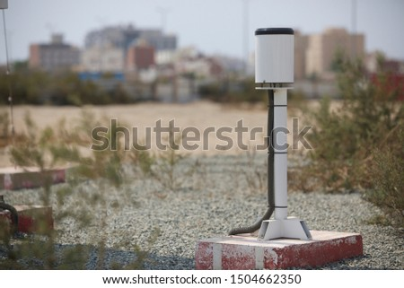 Meteorological equipment's , used for monitoring weather and climatic conditions #1504662350