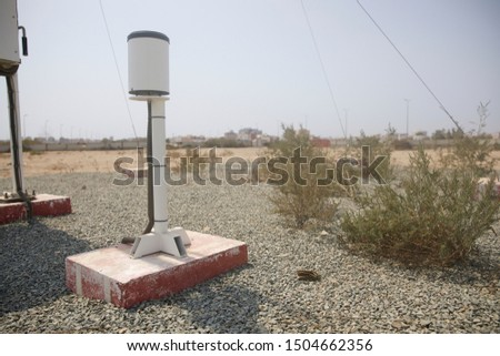 Meteorological equipment's , used for monitoring weather and climatic conditions #1504662356
