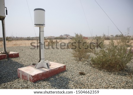 Meteorological equipment's , used for monitoring weather and climatic conditions #1504662359