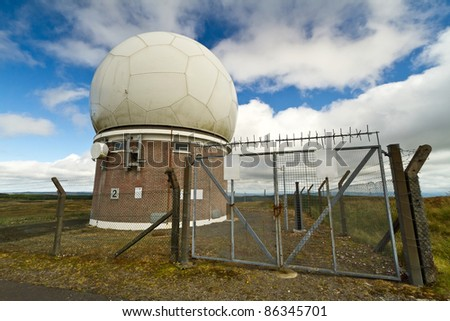 Meteorology station near Limerick, Ireland