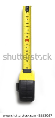 Meter isolated on white