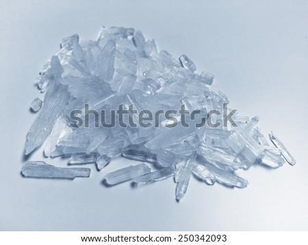 Methamphetamine crystal meth #250342093