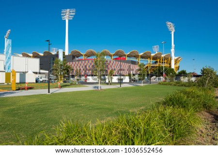 Metricon Stadium ready to welcome athletes for XXI Commonwealth Games - Gold Coast, Queensland, Australia - 1 March 2018