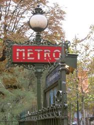 Metro, Art Deco, Paris, France