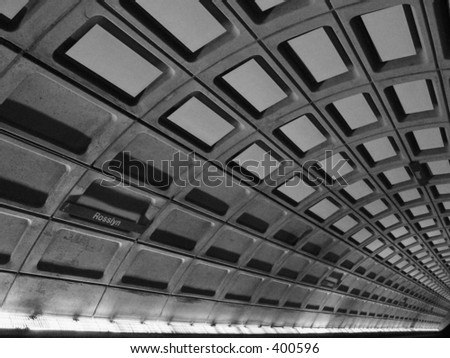 Metro Station, Rosslyn, Washington DC