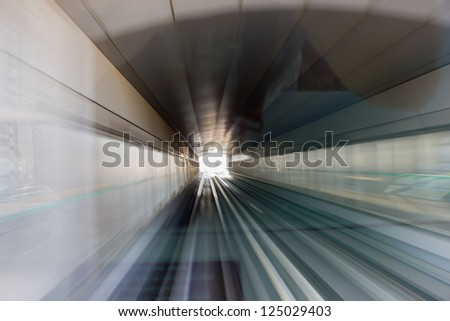 metro subway tracks