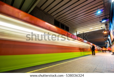 Metro Transportation System Mexico City