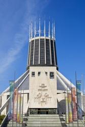 Metropolitan Cathedral, Hope Street, Liverpool, England UK