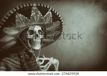 mexican bandit skeleton 7. a...