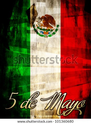 Mexican 5 / Cinco de mayo poster - card template