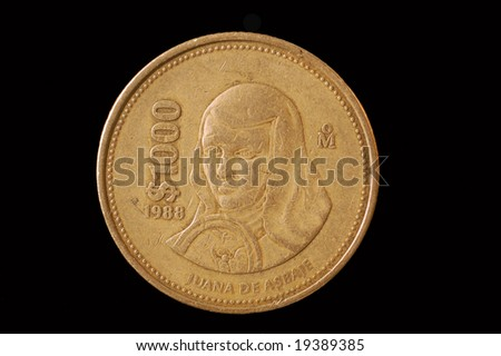 Old Mexico Gold Coins http://www.shutterstock.com/pic-19389385/stock-photo-mexican-coin.html