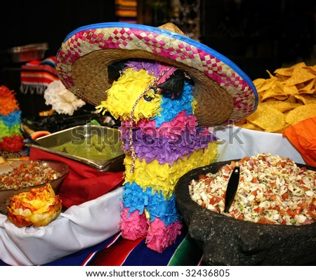 Mexican cuisine - stock photo