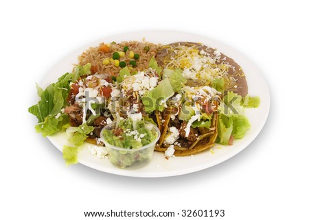 Mexican Food Dish - stock photo