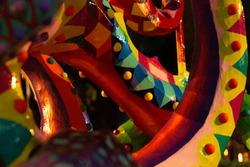 Mexican handwork; Mexican design Alebrijes