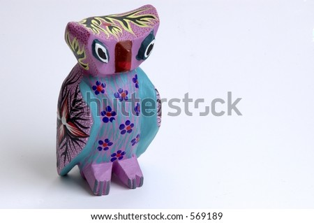 Mexican owl figurine