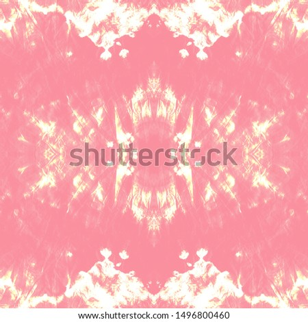 Mexican Seamless Print. Ethnic Pattern Bright. Vintage Folk Background. Tribal Decorative Style. Decorative Graphic Element. Pink, White, Gold Mexican Seamless Print.