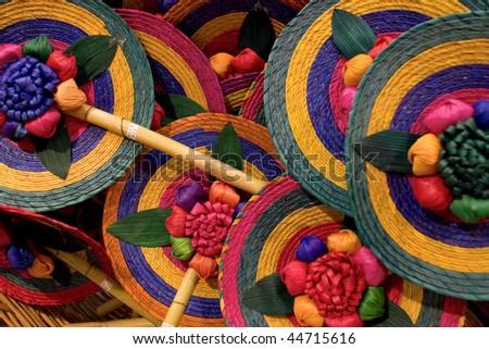 Mexican souvenirs - stock photo