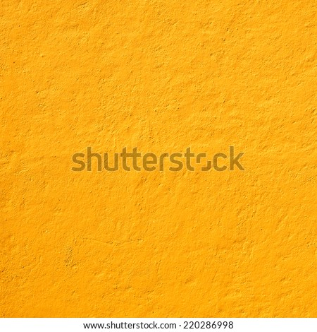 Mexican yellow rough wall for background #220286998