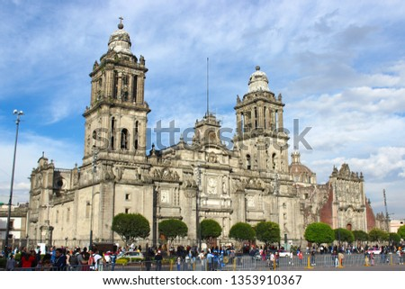 Mexico City Metropolitan Cathedral #1353910367