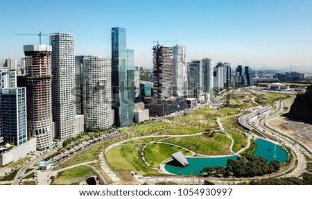 Mexico city - Skyscrapers - Santa Fe #1054930997