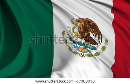 Mexico flag HI-RES collection