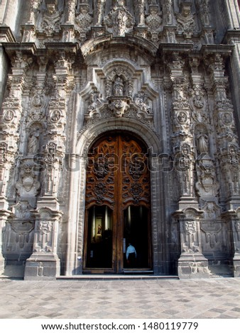 Mexico, Metropolitan Cathedral of the Assumption of the Most Blessed Virgin Mary into Heavens #1480119779
